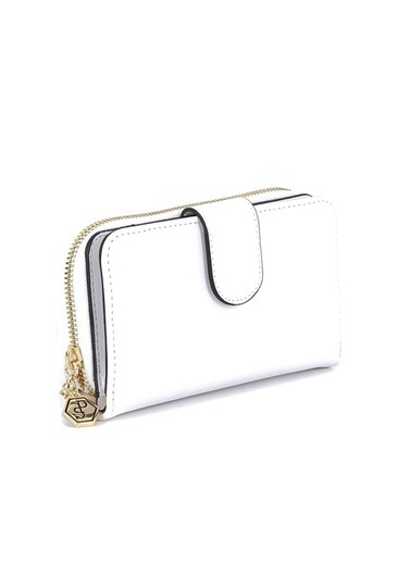 Silver Polo Cüzdan Beyaz